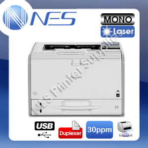 Ricoh SP-3600DN Mono Laser Network Printer+Auto Duplexer+3-Year Warranty 30PPM